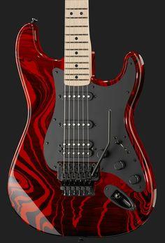 Fender Stratocaster Red Swirl FSR