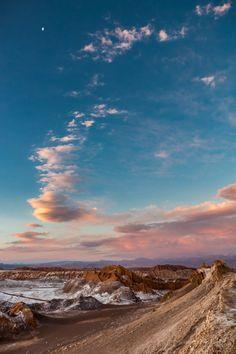 just-wanna-travel: Valle de la Luna at Salar de Atacama, Chile