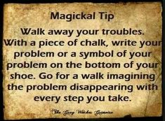 Walk away your problems