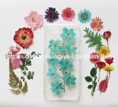 iPhone+Handyhülle+Samsung+Galaxy+S4+S5+S6+mini+HTC+von+Echte+Blumen+Hülle+auf+DaWanda.com