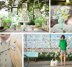 adrian and jana: Wedding Trend: Pinwheel Madness for Weddings!