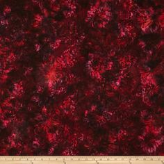 Designed for Hoffman International Fabrics, this Indonesian batik is perfect for quilting, craft projects, apparel and home décor accents. Colors include shades of burgundy, pink, red and purple.