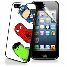 CRACKED NECK HERO AVENGERS iPhone Case And Samsung Galaxy Case