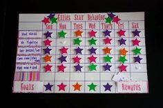 Star Behavior Charts: really good idea.