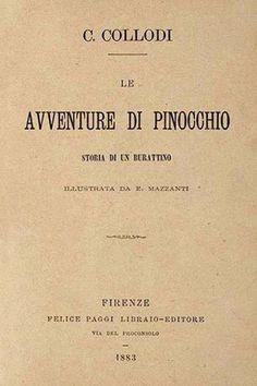 Collodi, Le avventure di Pinocchio (Firenze, Paggi, 1883)