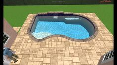 3D walk through before you buy a pool from Kerry Martin Pool Builders Inc. 262-2384