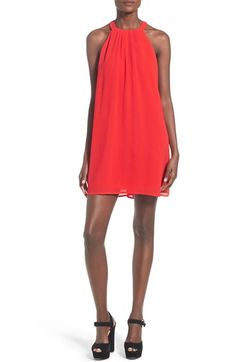 ASTR High Neck Trapeze Dress available at #Nordstrom