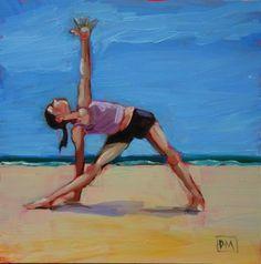 Painting by Debbie Miller