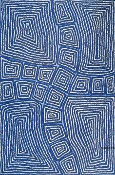 Thomas Tjapaltjarri - Tingari - aboriginal art