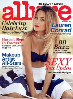 Lauren Conrad's Allure Cover {November 2012}