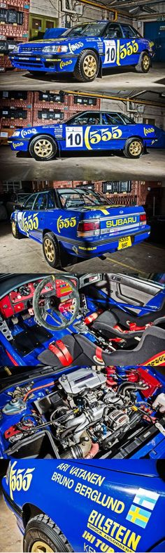 1993 Subaru Legacy RS Group A Ex-Prodrive Rally Car