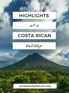 I have always wanted to visit Costa Rica on vacation. It is a popular family destination in Central America. Collecting travel tips for a trip to this country.