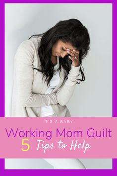 Coping With Working Mom Guilt: Tips to Incorporate Daily Self-Care for the Professional and Mother Working Mom Tips, Working Mother, Work Life Balance Tips, Pumping At Work, Mom Hacks, Life Hacks, Breastfeeding Tips, Professional Women, New Moms