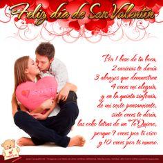 Poemas De San Valentin | Diseño de parejas de enamoradas y poema de amor para San Valentín ...