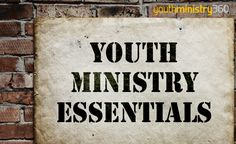 Youth Ministry Essentials: Five Characteristics Of Healthy Discipleship.