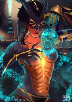 Symmetra from Overwatch by Violoxe @ twitter.com