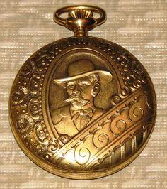 Vintage Swiss-made Jack Daniel's pocket watch.