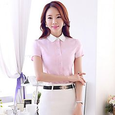 ICED™ Women's Work Short Sleeve Shirt (More Colors)