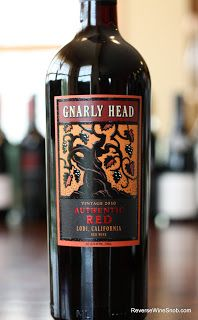 gnarly head authentic red 2010 ready to party loco for lodi wine 9 authentic oak red wine