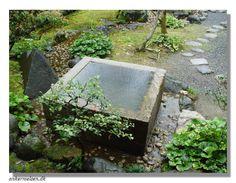 Details on the Tsukubai and chozubachi