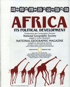 National Geographic Map, Africa Its Political Development, 1980, good shape by VintageNEJunk on Etsy