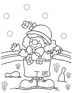 Fasching clown zum ausmalen #children #print #carnival Animal Coloring Pages, Colouring Pages, Adult Coloring Pages, Coloring Sheets, Windows Color, Carnival Of The Animals, Animal Worksheets, Pokemon, Easter Activities