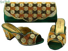 OLAMICH Fashion Shoes and Bag Set WOMEN Matching PARTY Shoes and Bags