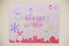 【作品の特徴】カラフルな虹色の雲が浮かぶ空。街中に妖精たちが降ってきているイラストです。赤ちゃんのお名前・出生日・身長・体重などの大切な日の思い出をイラストの...|ハンドメイド、手作り、手仕事品の通販・販売・購入ならCreema。