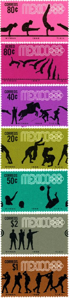 Olympic design and the identity for Mexico 1968