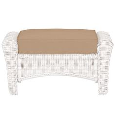 Bombay Outdoors Sherborne 2 Piece Patio Chair And Ottoman Set With Palmetto Cushions A004566 999A
