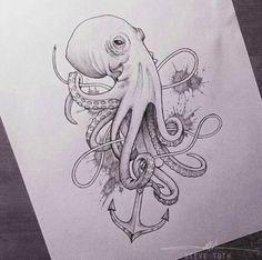 Stunning Octopus Tattoos For Women