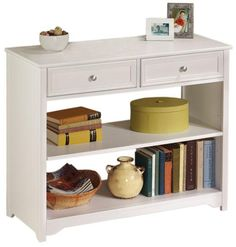 Small table with shelves and a drawer | Ana White
