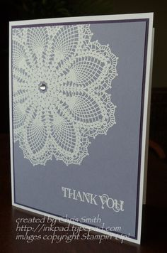 For all of my doilies that great grandma made.