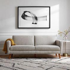 An Under-$500 Sofa: West Elm Oliver Sofa Modern Sofa, Mid-century Modern, Modern Furniture, Furniture Design, Hamilton Sofa, Retro Sofa, Traditional Sofa, Mid Century Sofa, Tufted Sofa