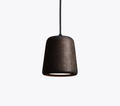 Material Pendant, Smoked Oak, Design by Nørgaard & Kechayas http://www.newworks.dk/