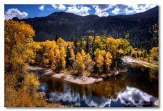Poudre River Bend Fort Collins Colorado