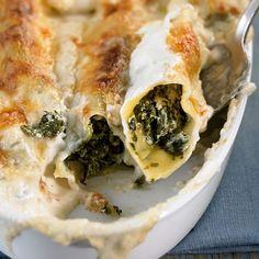 ESSEN & TRINKEN - Ricotta-Spinat-Cannelloni Rezept