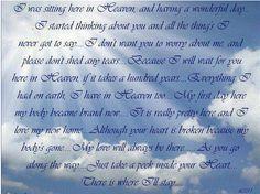 bereavement message