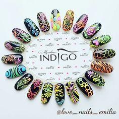 Sugar Effect, Indigo Nails, Nails Only, Nail Artist, Summer Nails, Nail Art Designs, Instagram Posts, Nailart, Fat