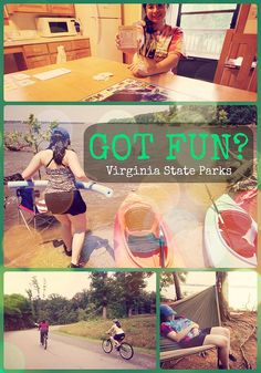 Got fun? Virginia State Parks has you covered! Here are a few ideas for summer fun with the whole family! - http://www.virginiaoutdoors.com/article/more/5028