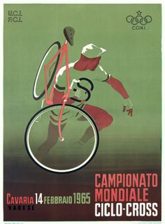 Vintage cyclocross poster