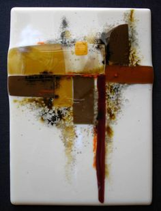 Christina Lynn Johnson - paintings - fused glass