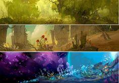 A lindíssima arte de Wildstar, novo MMO da NCSoft | THECAB - The Concept Art Blog