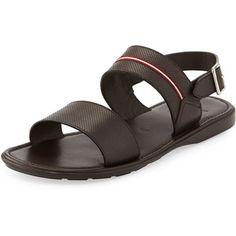 Bally Daiki Fisherman Strappy Leather Sandal