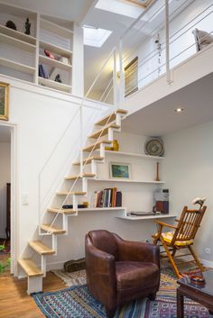 Du Plex – contemporary – Home Office – Other Metro – Inizia Architectes – Office Design 2020