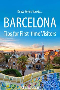 Traveling to Barcelona - tips for your first visit Travel Sights, Us Travel, Family Travel, Travel Destinations, Travel Europe, Visit Barcelona, Barcelona Travel, Best Cities, Spain Travel