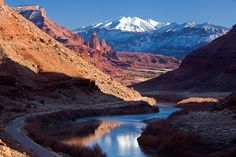 Moab, Utah is one of the neatest places. Grab a jeep and go rock crawling. It's way fun!!