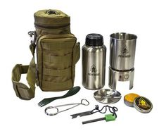 Stainless Steel Bottle Cooking Kit