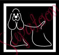 American Cocker Spaniel, English Cocker Spaniel, Animal Nail Designs, Dog Art, Cavalier, Dog Stuff, Fun Nails, Doggies, Tattoo Ideas