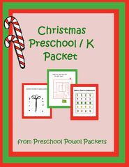 Construction Preschool Packet from PreschoolPowolPackets on TeachersNotebook.com (51 pages)